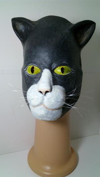 Mascara De Gato Goma Látex Flexible Gruesa