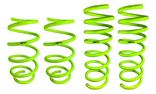 Espirales Progresivos Vw Golf 7 1.2 1.4 1.6 Rg Sportkit X4