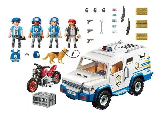 Playmobil City Action Assalto Ao Carro Forte 9371