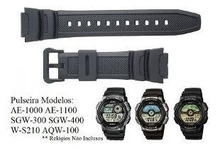 Pulseira Casio Sgw-300h Sgw-400h Melhor Preço De S.paulo