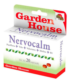 Garden House Nervocalm Suplemento Dietario X 20 Comprimidos