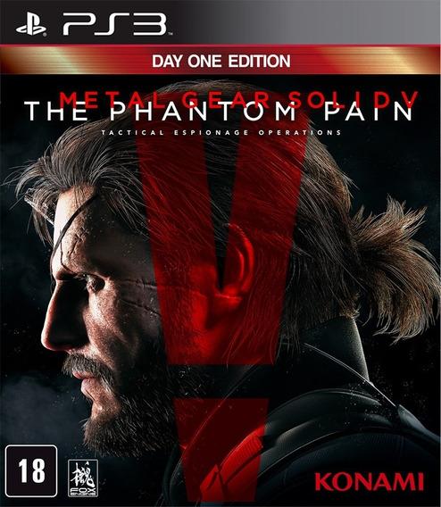 Jogo Metal Gear Solid V The Phantom Pain Ps3 Mídia Física