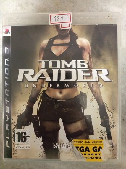Jogo Sony Ps3 Tomb Raider Underworld Lote181