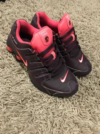 Tênis Da Nike Shox 35 Original