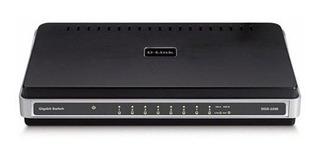 D-link Dgs-2208 Switch De 8 Puertos 10/100/1000 De Sobremesa