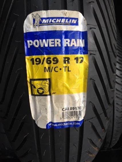 Pneu Moto De Chuva Michelin Power Rain Traseiro 190/69-17