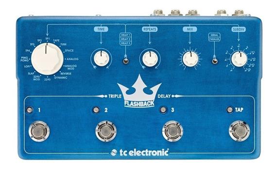 Pedal Tc Electronic Flashback Triple Delay E Looper Loop