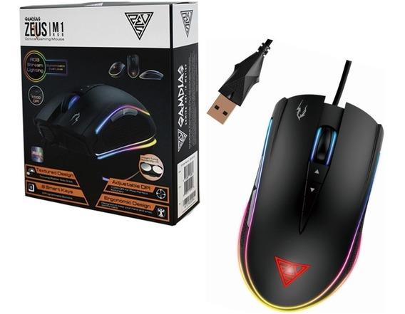 Mouse Gamer Gamdias Zeus M1 7000 Dpi Rgb Óptico