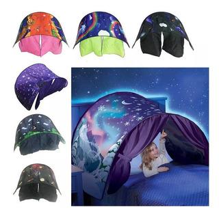 Crianças Dormindo Sonho Brinquedos Tenda Com Led Play House