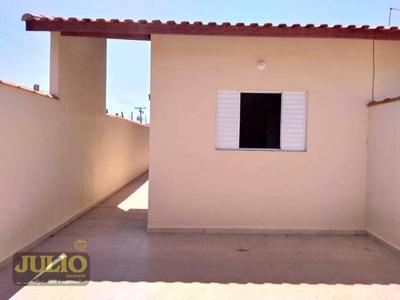 Entrada R$ 29.600,00 + Saldo Super Facilitado, Use Seu Fgts, Itanhaém 2 Dormitórios Casa Nova Próximo Ao Aeroporto Região Central - Ca3247