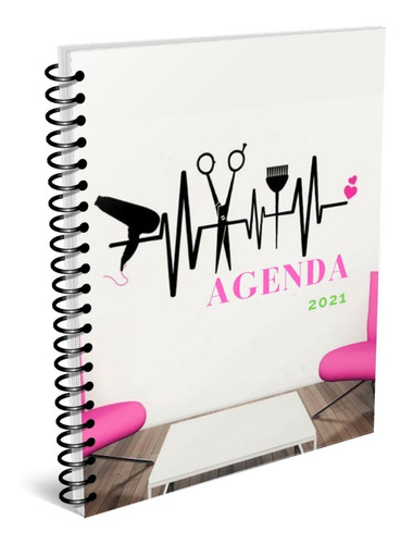 Imagen 1 de 5 de Agenda Peluquería, Kit Imprimible. Envío Gratis.
