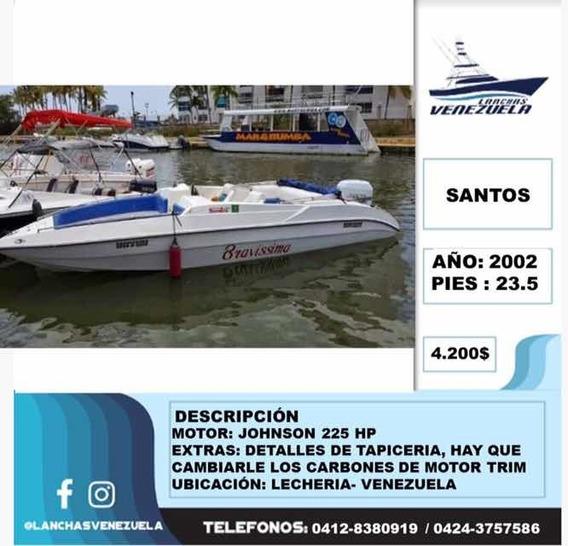 Lancha Santos 23.5 Lv155