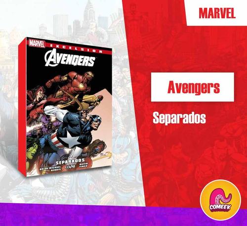 Imagen 1 de 2 de Comic Avengers Separados Español Latino Avengers Desunidos