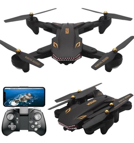 Drone Visuo Xs809s Câmera Wifi Hd 720p Ao Vivo; 20 Minutos V