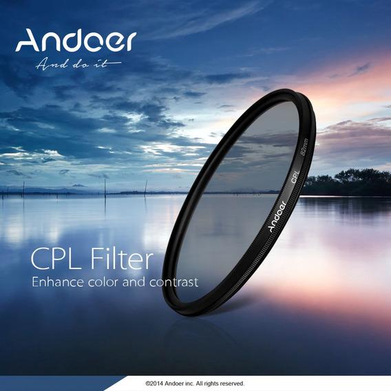 Andoer 52 Milímetros Digital Fino Cpl Circular Polarizador P
