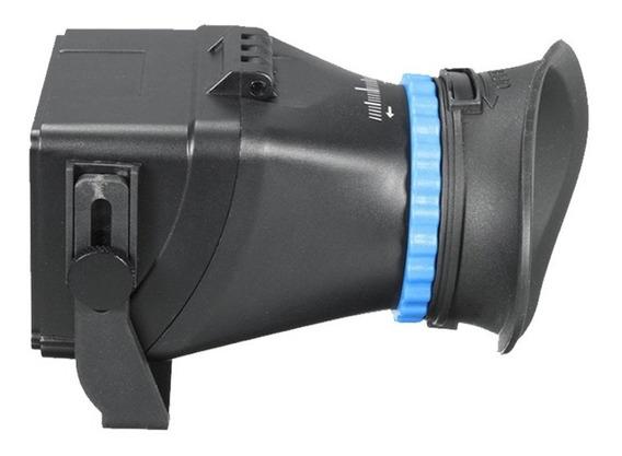 Visor Para Câmera Viewfinder Pro - Tela Lcd - Canon Nikon