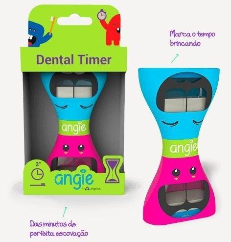 Dental Timer - Ampulheta De Tempo De Escovação Infantil