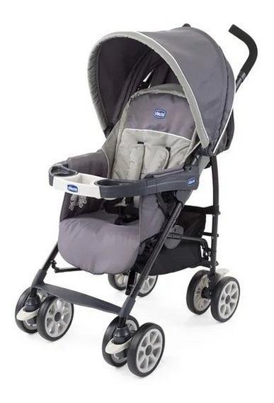 Carrinho De Bebê Chicco - Graphite - Neuvo