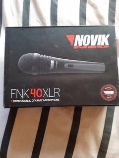 Microfono Vocal Novik - Fnk40xlr
