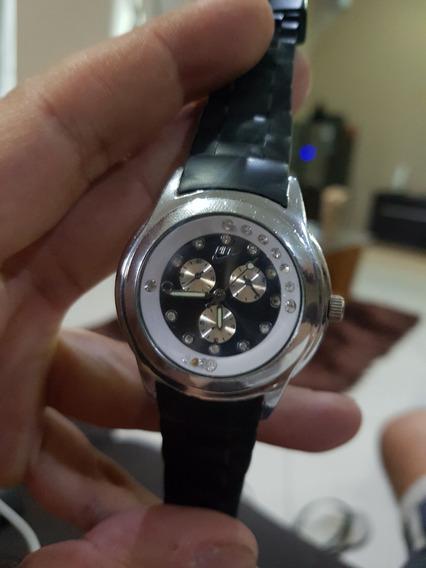 Relógio Nike Feminino C77 Com Pedras De Cristal