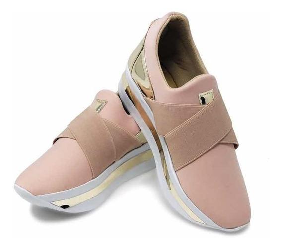 Zapato Para Dama Tipo Casual Confort Plataforma Alta