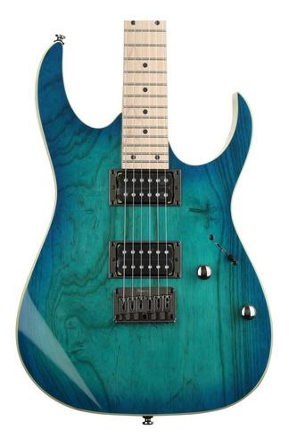 Guitarra Ibanez Rg421ahm Bmt Blue Moon Burst C/ Nfe