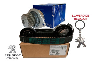 Kit Distribucion Original + Bomba Skf Peugeot 206 1.6 16v N