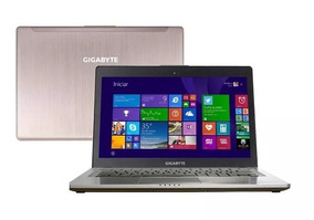 Ultrabook Gigabyte U24f I5 Gamer Intel Core I5 8gb 128gb Ssd