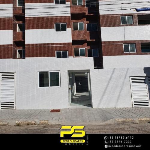 Apartamento Com 2 Dormitórios À Venda, 59 M² Por R$ 200.000 - Manaíra - João Pessoa/pb - Ap4023