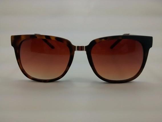 Óculos De Sol Otto - Havana E Dourado - Br1297