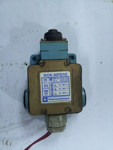 Micro Switch Tipo Pulsador Nc No Para 5a 250v 12892