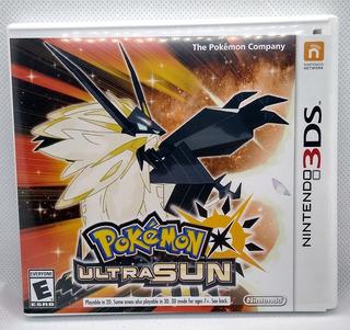 Pokémon Ultrasun Original Nintendo 3ds Incluye Caja