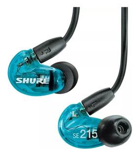 Fone Shure Se215 - 6 Meses Garantia - Lacrado
