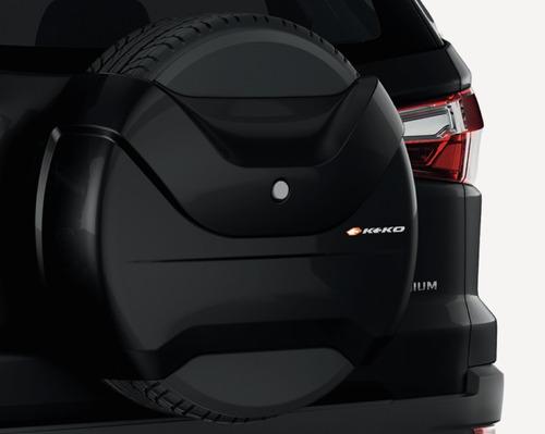 Cubre Rueda Negro Ford Ecosport 2013-2019
