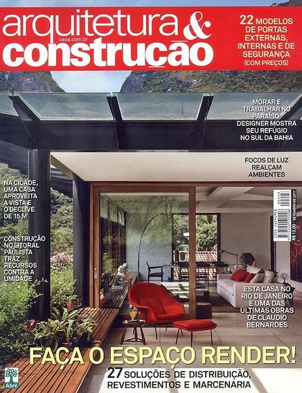 Lote 20 Revistas Arquitetura & Construção Au Várias Edições