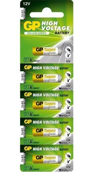25 Bateria 12v Alcalina 23a Blister C/5 Unid B12va23a-5un Gp