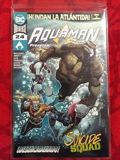 Dc Comics Aquaman #24 Suicide Squad (2019) 48 Págs Grapas