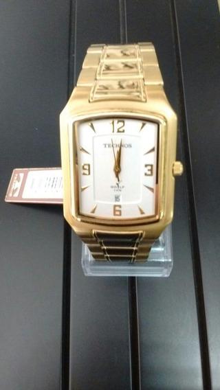Relógio Technos Golf Social Dourado