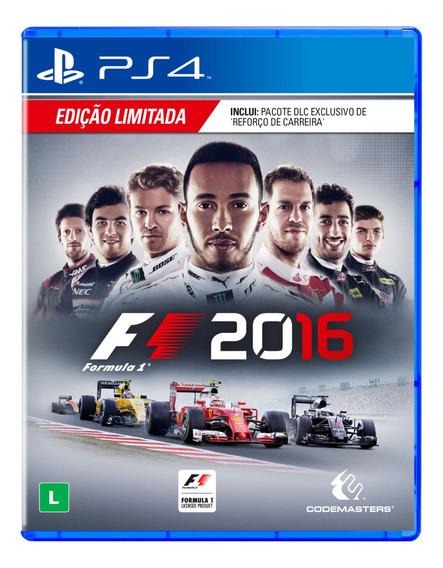 Fórmula 1 2016 - F1 - Ps4 Midia Fisica