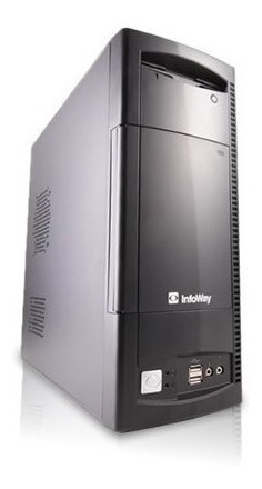 Cpu Itautec Dual Core 1gb Hd 160gb