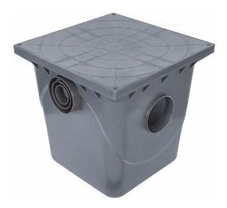 Caixa De Passagem Inspeção Esgoto Qd Grande Cz-410x400x410mm