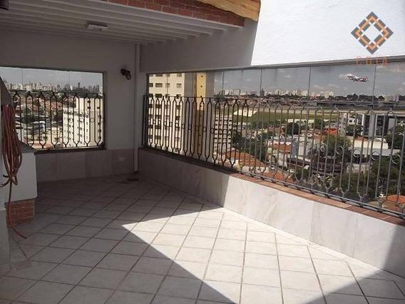 Cobertura Campo Belo, 198 M², 3 Dorms Sendo 1 Suíte, 3 Banheiros, Varanda, 3 Vagas, Lazere Completo, R$ .1700,000,00 - Co1027