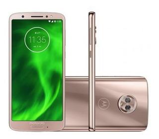 Smartphone Motorola Moto G6 64gb Ouro Rosê - Dual Chip 4g Câ