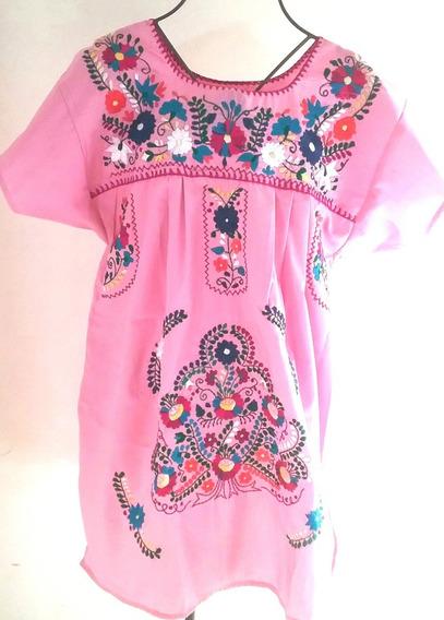 Camisas Blusas Y Vestidos Mexicanos Bordados Artesanal