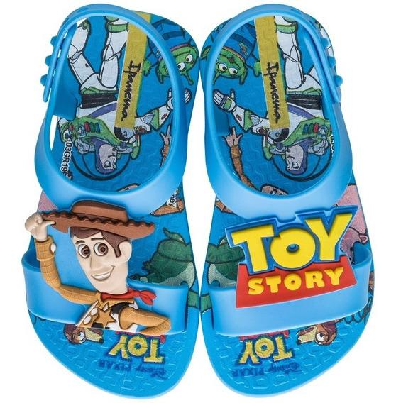 Chinelo Infantil Masculino Toy Story Rei Leão 26359 Novo