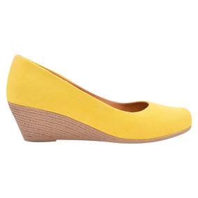 bfd0b543d3 Sapato Social Feminino - Sapatos Amarelo no Mercado Livre Brasil