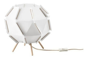 Ikea Sjopenna Lampara De Mesa Minimalista