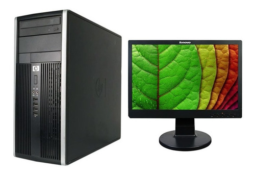 Computadora Pc Hp Compaq Pro Amd Athlon 19pul 4gb Ram Orange