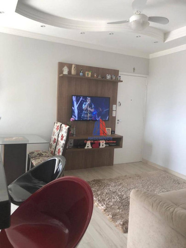 Apartamento Com 3 Dormitórios À Venda, 60 M² Por R$ 230.000 - Residencial Campos Verdes - Parque Universitário - Americana/sp - Ap0972