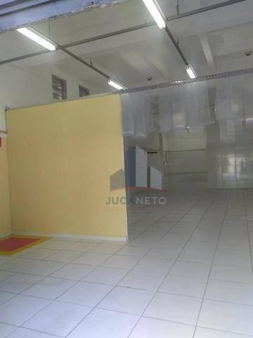 Salão Comercial No Térreo, 82 M² - Parque Oratório - Santo André/sp - Sl0085